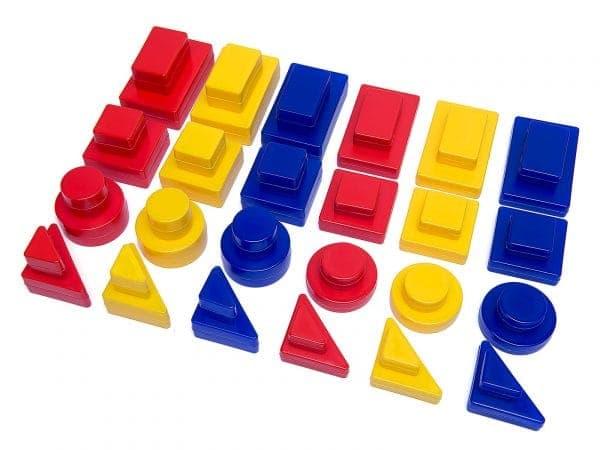 цветные Блоки Дьенеша