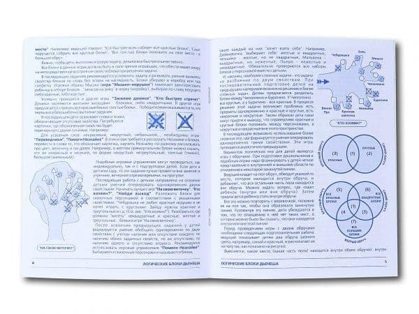 инструкция к Логическим Блокам Дьенеша