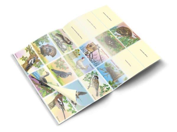 Страницы альбома «Живая природа»