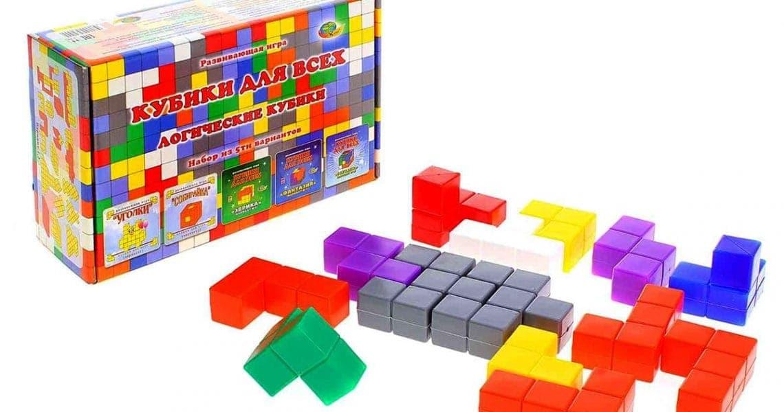 Кубики для всех. Логические кубики