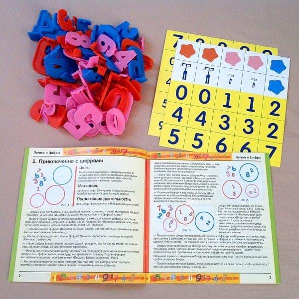 Элементы игры Логика и цифры