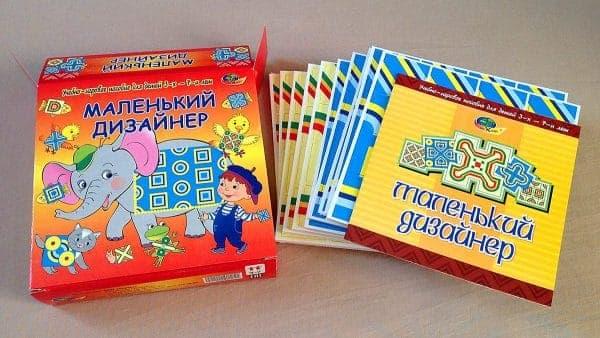 Учебно-игровое пособие Маленький дизайнер
