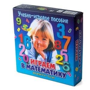 """игровое пособие """"Играем в математику"""""""