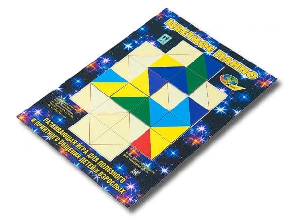 развивающая игра Цветное панно